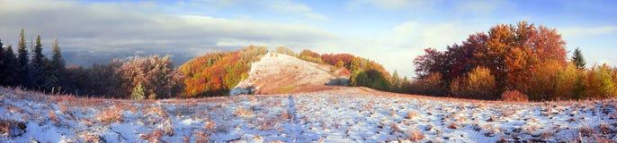 Sokal Ridge i nedgången Arkivbilder