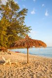Sokha beach in sihanoukville province. Sokha is a beautiful beach with its one-kilometer crescent and comparatively wide so that there is plenty of sand left stock photo