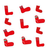 sokken Royalty-vrije Stock Foto's
