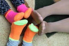 sokken Royalty-vrije Stock Fotografie