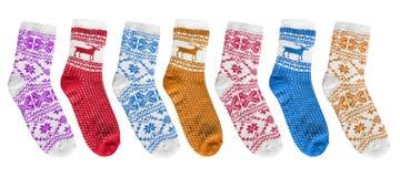 sokken royalty-vrije stock afbeeldingen