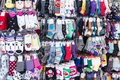 Sokken Kleinhandels royalty-vrije stock afbeelding