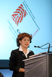 Soknan Han Jung. Is representative in Romania of the United Nations Development Programme Stock Photo