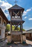 Soko Monastery est? situado debajo de Soko Grad fotografía de archivo libre de regalías