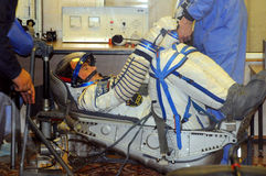 Sokol Launch Suit Leak Check Royalty Free Stock Photography