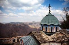 Sokol monastery. A view of Sokol Monastery  church near Gabrovo, Bulgaria Royalty Free Stock Photography