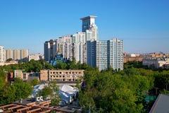 Sokolniki okręg w centrum Moskwa, Rosja Fotografia Royalty Free