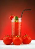 soku świeży pomidor Fotografia Royalty Free