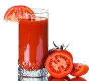 soku świeży pomidor Zdjęcie Stock