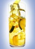 soku świeży tumbler zdjęcia stock