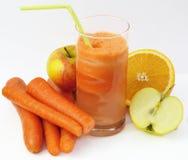 soku świeży warzywo Zdjęcia Royalty Free