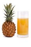 soku ananas Fotografia Stock
