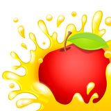 Soku jabłko Zdjęcia Royalty Free