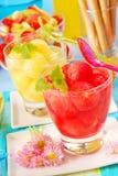 soku melonu arbuz Zdjęcie Royalty Free