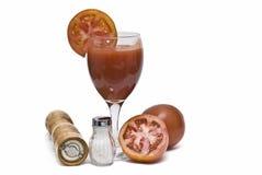 soku pieprzu soli pomidor Zdjęcie Stock