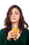 soku pomarańczowi kobiety potomstwa obraz royalty free