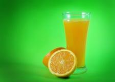 soku pomarańcze plasterki zdjęcie stock