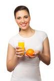 soku pomarańczowi kobiety potomstwa Obraz Stock