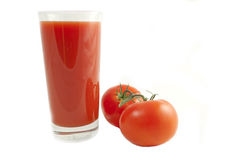 soku pomidor obraz royalty free