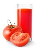 soku pomidor Fotografia Royalty Free