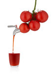 soku pomidor Zdjęcie Royalty Free