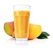 soku szklany mango Zdjęcia Royalty Free
