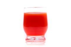soku szklany pomidor Zdjęcia Royalty Free