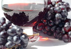 soku winogronowego Obraz Royalty Free