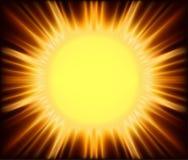 Sol abstracta Imagen de archivo libre de regalías