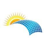 Sol- affär vektor illustrationer