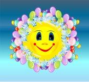 Sol alegre, Imagens de Stock
