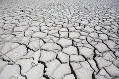 Sol aride et criqué Photographie stock