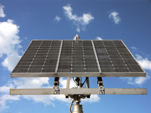sol- batteri Royaltyfria Foton