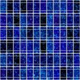 sol- blåa celler royaltyfri illustrationer