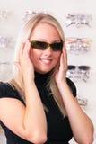 sol- blonda exponeringsglas Royaltyfria Bilder