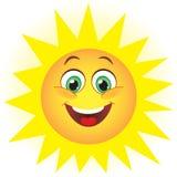 Sol bonito ilustração royalty free