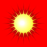 Sol brilhante Imagem de Stock