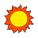sol cômico dos desenhos animados Fotografia de Stock Royalty Free