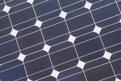 sol- cell Fotografering för Bildbyråer