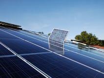 sol- cell Arkivbild