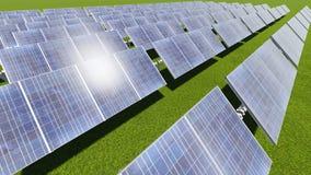 sol- cell Royaltyfri Bild