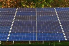 sol- cell royaltyfria bilder