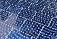 Sol- cell som isoleras på vit bakgrund Arkivfoton