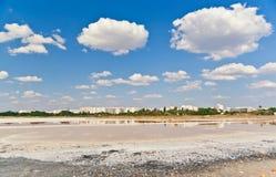 solący Crimea jezioro Zdjęcia Stock