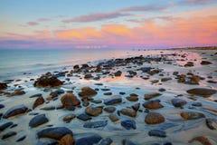 Sol da meia-noite Fotos de Stock Royalty Free