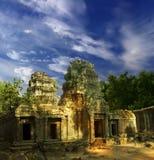 Sol de Angkor-4 Imagen de archivo