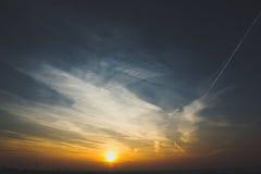 Sol de la buena mañana Imagenes de archivo