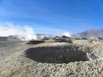 Sol de Mañana, Altiplano, Bolivia Royalty Free Stock Photos
