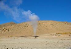 Sol de Mañana, Altiplano, Bolivia Stock Images