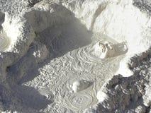 Sol de Mañana, Altiplano, Bolivien Lizenzfreie Stockfotografie